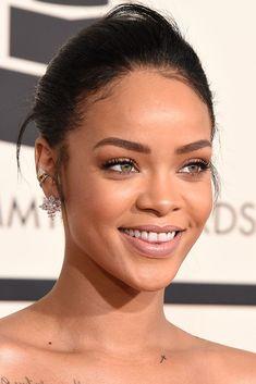 Rihanna wearing Chopard earrings. [Photo by Steve Granitz/WireImage]