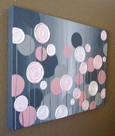 25 kreative und einfache DIY Leinwand Wandkunst Ideen 25 creative and easy DIY canvas wall art ideas Canvas Painting Projects, Easy Canvas Painting, Diy Canvas Art, Canvas Wall Art, Canvas Ideas, Painting Walls, Acrylic Paintings, Painting Art, Simple Canvas Art