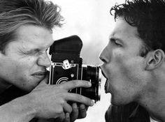 Matt Damon and Ben Affleck. Their friendship is so cute!