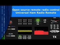 Open Source Projects, Ham Radio, Radio Control, Youtube, Remote, Usb, Youtubers, Youtube Movies, Pilot