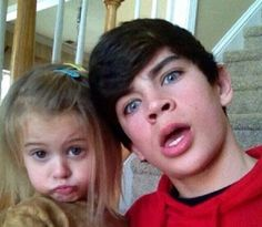 Hayes and Skylynn Grier