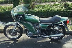 Kawasaki Z650 B1 1977 Cafe Racer Running Project