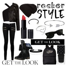 """""""Rocker Style"""" by longboarder21 ❤ liked on Polyvore featuring Paige Denim, BCBGMAXAZRIA, Étoile Isabel Marant, New Look, Bling Jewelry, Jordan Askill, Ray-Ban, Gucci, Vans and Miss Selfridge"""
