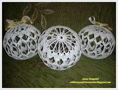 Oddana pasji tworzenia...: Bombowe te bombki... cz. 1 Crochet Christmas Decorations, Sampler Quilts, Christmas Tree, Christmas Ornaments, Knitting Stitches, Crochet Earrings, Holiday Decor, Jewelry, Crochet Designs