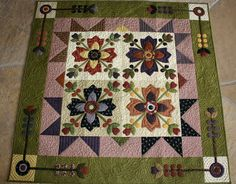 So Many Quilts, So Little Time!: A Finish!  Country Whig Rose