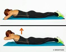 There are many body building exercises out there, one only needs to visit the local gym or fitness center and look at all the different varieties of exercises being done. Muscle Fitness, Yoga Fitness, Health Fitness, Fitness Exercises, Pilates Video, Barre Workout, Yoga Gym, Back Muscles, Get In Shape
