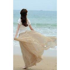 ACEVOG Women's 6-layer Tutu Ballet Ruffle Bridal Petticoat Princess... ($14) ❤ liked on Polyvore