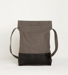 Джинсовая Daily (серая) сумка шоппер купить