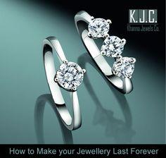 How to Make your #Jewellery Last Forever - http://www.khannajewelsco.com/HowtoMakeyourjewellerylastforever