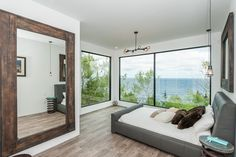 Prefab homes and modular homes in Canada: Modular Prefab Homes by Quality Homes, Ontario Modular Home Builders, Custom Modular Homes, Contemporary Cottage, Contemporary Design, Modern Design, Small Tiny House, Tiny Houses, Riverside House, Prefab Homes