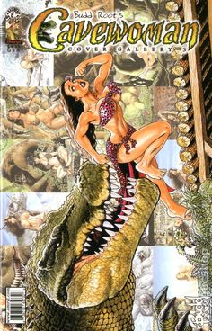 Comic Book Cover Gallery   Cavewoman Cover Gallery Regular Edition (2002) comic books