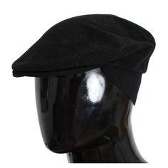 99b59f95 Dolce & Gabbana Black Cotton Newsboy Cap