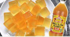 Используйте яблочный уксус в виде желатиновых сладостей!