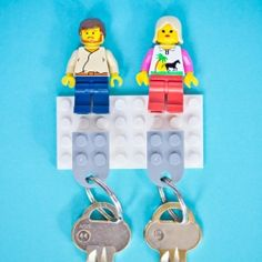 Lego key holder, for his and her keys.