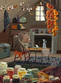 Olga Demidova - Little Hedgehog                                                                                                                                                                                 Mais