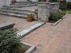 steps/pavers...