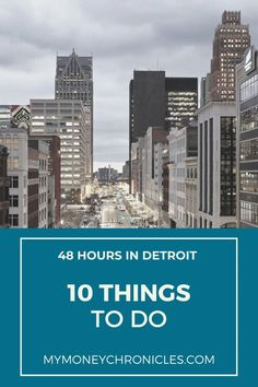 Here's 10 things to do if you have 48 hours in Detroit. Beautiful Places In Usa, Some Beautiful Pictures, Visit Usa, Visit Canada, Usa Travel Guide, Travel Usa, Travel Tips, Windsor Canada, Travel Around The World