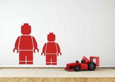 Muursticker Lego Minifiguur   Muurstickers Kids   MUURSTICKERS /101WOONSTICKERS