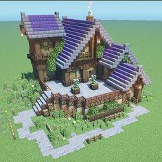 Plantas Do Minecraft, Minecraft Farmen, Minecraft Villa, Architecture Minecraft, Minecraft House Plans, Minecraft Mansion, Easy Minecraft Houses, Minecraft House Designs, Minecraft Construction