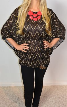 Purely Indigenous Top | SexyModest Boutique