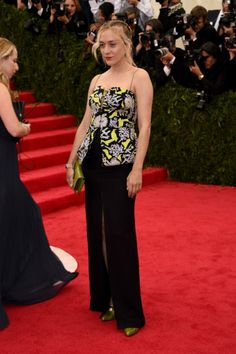 Chloe Sevigny in Kenzo at the 2014 Met Gala