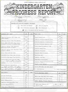 kindergarten report card writing paper images template net student progress sample weekly best free home design idea inspiration