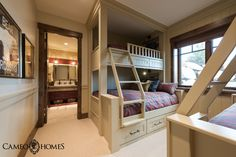 Children's Bunk Room in Promontory, Park City, Utah by Park City Home Builders, Cameo Homes Inc.