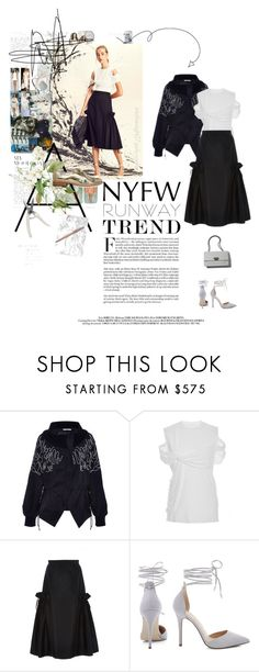"""""""#341 - Hot NYFW Runway Trend"""" by intothenight27 ❤ liked on Polyvore featuring Adeam"""