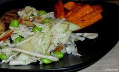 Låvises mad: Hvidkålssalat med balsamico figner
