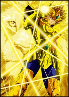 Saint Seiya - Gold Saint Leo no Aiola