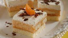 Krémový marhuľový koláčik