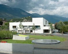 Kindertagesstätte in Sierre, Giorla & Trautmann Architectes