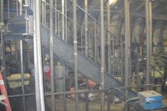 Curved Staircase Fabrication - CS05