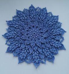 Crochet Mat, Crochet Doilies, Crochet Flowers, Etsy App, Projects To Try, Crochet Patterns, Photo Wall, Knitting, Wall Photos