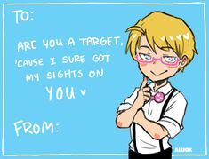 — ask-hitman-jones: Happy Valentine Thank. Hetalia Funny, Hetalia Fanart, Hetalia Anime, Valentines Day Memes, Valentine Cards, Alfred Jones, Leonard Snart, Hetalia America, Hitman Reborn