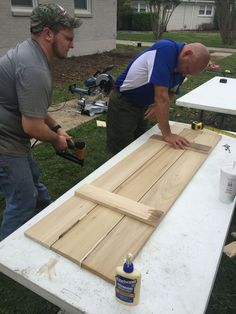 how to build board and batten shutters curb appeal diy how to window treatments windows woodworking projects Easy Woodworking Projects, Diy Wood Projects, Woodworking Plans, Woodworking Furniture, Woodworking Shop, Woodworking Videos, Woodworking Machinery, Woodworking Inspiration, Woodworking Chisels