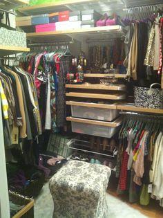 A Real Tiny Elfa Closet