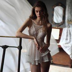 Lingerie Dress, Sheer Lingerie, Wedding Lingerie, Dress Wedding, Vestidos Vintage, Vintage Dresses, Lingerie Transparente, Ropa Interior Babydoll, Luxury Dress