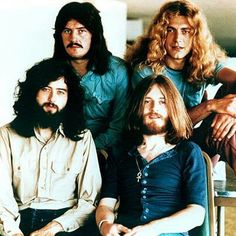 Led Zeppelin,this pic a different one than others we've seen.....they did so many poses at this shoot!