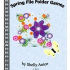 File Folder Games  This ebook is 71 pages long with 12 file folder games for your math and literacy centers! $12
