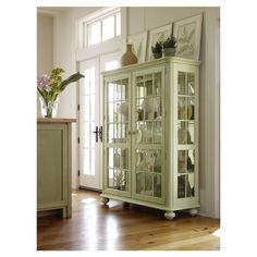 You should see this Coastal Living Newport Curio Cabinet in Sea Grass on Daily Sales!