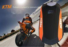 NEW KTM Moto Motorcycle 3NO DRAG BAG Ogio Backpack  Motorcross Racing Riding Bags Hard Shell Backbag For SUZUKI Kawasaki Mach3