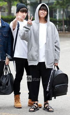 Not airport fashion but I like their outfits