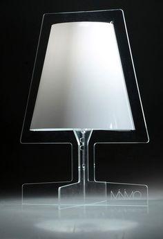 arborem design, acryl, leuchte, schwerkraft,, minimo, transparent, silhouette, form