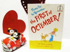 Beginner Books-  Please Try to Remember the First of Octember by Dr. Seuss (1977, Hardcover) by Theo LeSieg Illustrated by Art Cummings by ScrapPantry, $9.00 USD