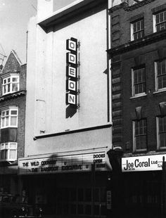 Odeon Cinema - Camden Town - 1971 - films showing, The Wild Country and Barefoot Executive, both Disney films. (was the Gaumont from 1937 to 1964)