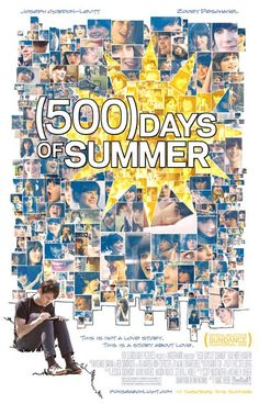 A great movie poster for (500) Days of Summer starring Joseph Gordon-Levitt and Zooey Deschanel - a love story like no other! Ships fast. 11x17 inches. Need Poster Mounts..?
