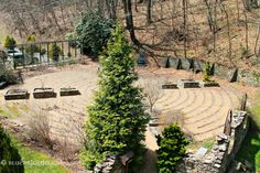 Healing Garden & Labyrinth in Crossnore