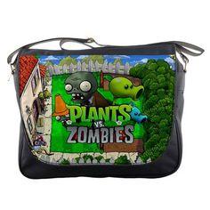 Plants vs Zombies School College Shoulder Messenger Bag #Unbranded #MessengerShoulderBag