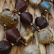 Signature Necklace - Brown